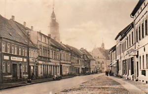 Schliebener Straße mit Blick Richtung Markt