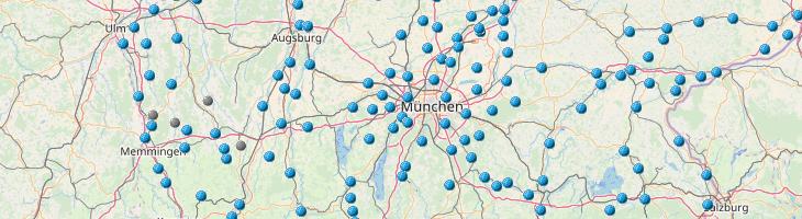 Grundwasserstände Bayern