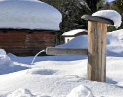 Winterfester-Brunnen